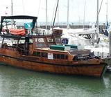 CLASSIC WOODEN BOAT FULLY REFITTED