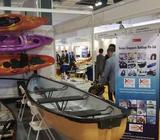 Canoe that allows motorized outboard ( up to 5hp)