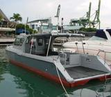 Commercial wokboat - Fibreglass, multipurpose with MPA license