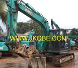 Kobelco SK135SR Excavator With Secondary Hydraulic Crusher and LM Cert For Rental Sale In Singapore