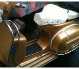 Vintage Vespa Sprint registered 1977, GOLD