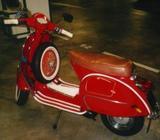 Selling bright RED 1984 Vespa PX200E
