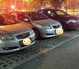 Car Rental For Uber / Grab Car / Personal Use