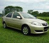 Jul 2006 Toyota Vios 1.5A