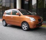 Good condition orange KIA PICANTO 1.1M