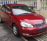 Toyota Altis for Rent