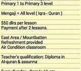 Arabic tuition Primary