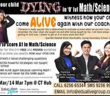 Are you DYING in Sec Math & Science? Come to Education Alive Tuition Centre!