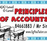 Principles of Accounts (POA) Tuition by Full Time Tutor