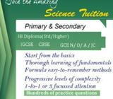 *Easy & Interesting Science* tuition for Primary and Secondary Students