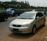 Toyota Altis 1.6 Available For Rent !! Please Give Us A Call For Enquiry!!!