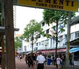 Yellow Box Rental at High Human Traffic Flow Area in Clementi Central