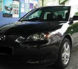 Cars For Hire - Various Makes and Models