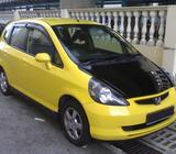 Honda Fit for Hire