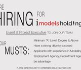 Event & Project Executive - iModels Holdings