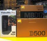 Nikon D500 Digital Camera + 18-55mm VR + 70-300mm