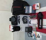 Canon DSLR 500D Body With 50MM F/1.8II Kit & Many Many More !!!