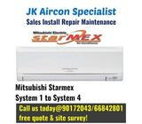 Hot weather Aircon sales,Mitsubishi Starmex ! Call us for free quote@90172043