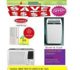 Casement,Window,Portable Air Con Promotion