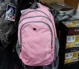 Brand New Swisswin Backpack in Pink 10% Discount