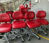 Red High Chairs for sale @$20 each