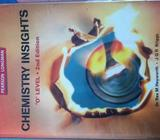 Chemistry Insights O Level 2nd Edition for sale