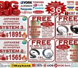 **CNY HAPPYDEALS AIRCON SPECIAL OFFER 2016** JAPANESE BRAND AIR-CON PROMOTION +