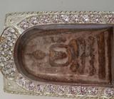 Hurry Gold powder wat rakang somdej BE241x with certificate amulet for rent