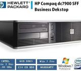 HP DC7900 Business PC Desktop Core2D 3Ghz 4GB 250GB WIN 7 Pro