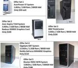 USED DESKTOPS SELLING CHEAP (SETS 4 & 5)