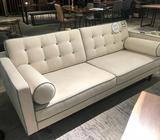 Elizabeth 3-Seater Sofa in Acacia Fabric