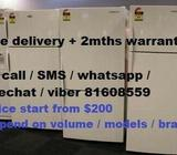 Used good condition Appliances (All come with free delivery + 2 months warranty)