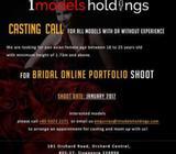 Bridal Online portfolio shoot - Casting call
