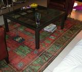 COFFIE TABLE - METAL WITH GLASS