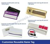 Best Offer on Reusable Name Tags - Renosis