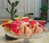 Fortune Cookies in Singapore- 0.70 per pc *Customization Avail