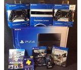 Fpr sale new Sony PS4 500gb console $200 (with 4 free games)