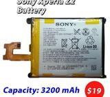 New SONY Xperia Z2 L50w Sirius SO-03 D6503 D6502 3200mAh battery