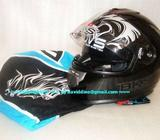 ~~~ BKS STeaLTH SeRies DuaL ViSoR FuLL FaCe HeLMeT for BiKeRs $168 ~~~