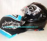 ~~~ BKS STeaLTH SeRies DuaL ViSoR FuLL FaCe HeLMeT $168 ~~~