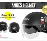 Andes HELMET **ready stocks** suitable for Escooter/Ebike/bike/bicycle