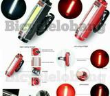 Aluminum Comet USB Rechargeable Light