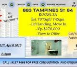 883 Tampines (3A) New Listing