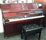 Cheap sell EURO used piano, brown color, good condition, Singapore piano shop