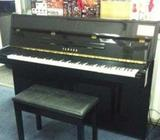 YAMAHA used piano, black color, good condition, nice sound, Singapore piano shop