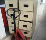 4-drawer Metal Filing Cabinet with Keys (3 pcs @ $50 each)