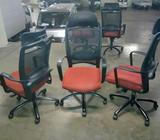 Imported Mesh Netting High Back Executive Chairs