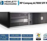 HP DC7800 Small Desktop PC Core 2 Duo 2.3Ghz 2GB 160GB DVD