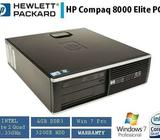HP Elite 8000 Business PC Desktop QuadCore 2.6Ghz 4GB 250 GB WIN 7 Pro
