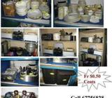 Used 4 Door Freezer ! Used Kitchen and Utensils to Clear!